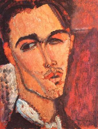 konfigurieren des Kunstdrucks in Wunschgröße Celso Lagar von Modigliani, Amedeo