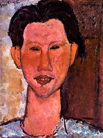 konfigurieren des Kunstdrucks in Wunschgröße Chaim Soutine von Modigliani, Amedeo