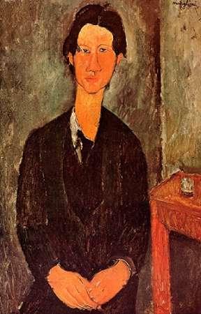 konfigurieren des Kunstdrucks in Wunschgröße Chaim Soutine 0 von Modigliani, Amedeo