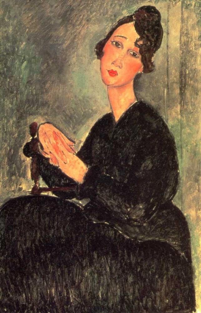 konfigurieren des Kunstdrucks in Wunschgröße Dedie von Modigliani, Amedeo
