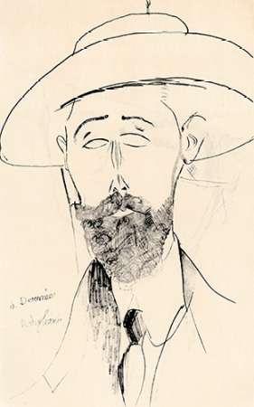 konfigurieren des Kunstdrucks in Wunschgröße Dermee von Modigliani, Amedeo