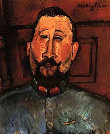 konfigurieren des Kunstdrucks in Wunschgröße Doctor Devaraigne von Modigliani, Amedeo