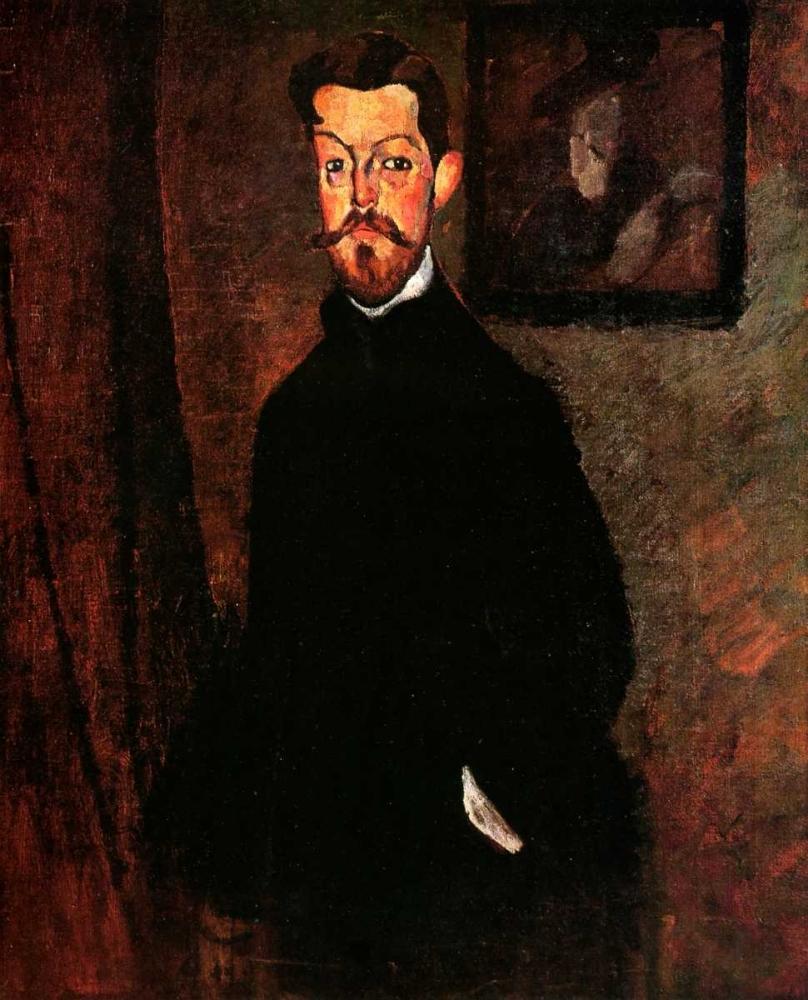 konfigurieren des Kunstdrucks in Wunschgröße Dr Paul Alexandre von Modigliani, Amedeo