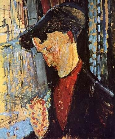 konfigurieren des Kunstdrucks in Wunschgröße Frank Haviland von Modigliani, Amedeo