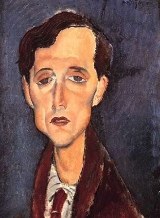 konfigurieren des Kunstdrucks in Wunschgröße Franz Hellens von Modigliani, Amedeo