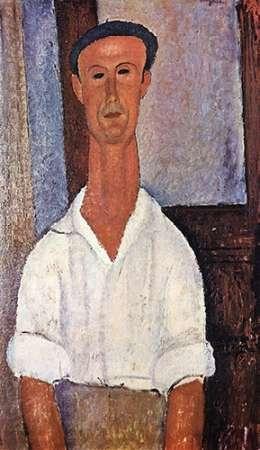 konfigurieren des Kunstdrucks in Wunschgröße Gaston Modot von Modigliani, Amedeo