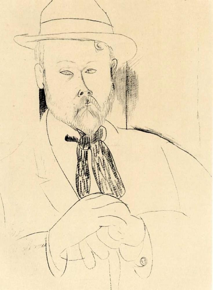 konfigurieren des Kunstdrucks in Wunschgröße Gillet von Modigliani, Amedeo