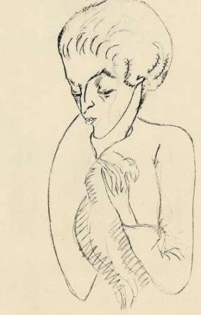 konfigurieren des Kunstdrucks in Wunschgröße Half Length von Modigliani, Amedeo