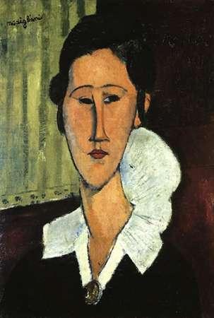 konfigurieren des Kunstdrucks in Wunschgröße Hanka Zborowska von Modigliani, Amedeo