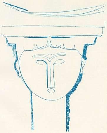 konfigurieren des Kunstdrucks in Wunschgröße Head Of Caryatid 1909 von Modigliani, Amedeo
