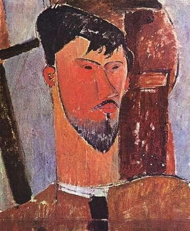 konfigurieren des Kunstdrucks in Wunschgröße Henri Laurens von Modigliani, Amedeo