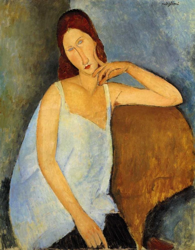 Jeanne Hebuterne 1 von Modigliani, Amedeo <br> max. 86 x 112cm <br> Preis: ab 10€