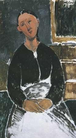konfigurieren des Kunstdrucks in Wunschgröße La Fantesca von Modigliani, Amedeo