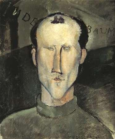 konfigurieren des Kunstdrucks in Wunschgröße Leon Indebaum von Modigliani, Amedeo