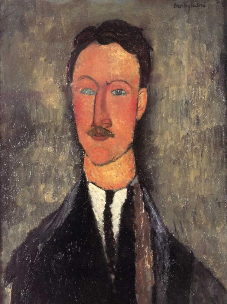 konfigurieren des Kunstdrucks in Wunschgröße Leopold Survage von Modigliani, Amedeo
