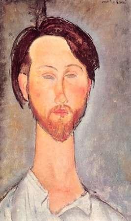 konfigurieren des Kunstdrucks in Wunschgröße Leopold Zborowski X von Modigliani, Amedeo