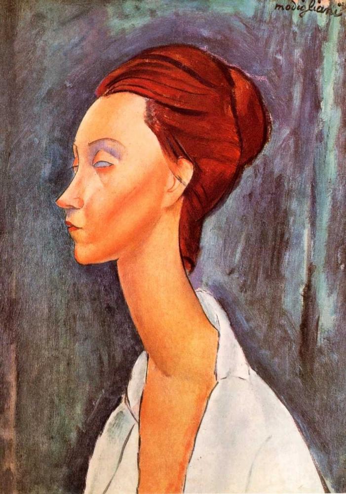 konfigurieren des Kunstdrucks in Wunschgröße Lunia Czechowska 0 von Modigliani, Amedeo