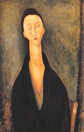konfigurieren des Kunstdrucks in Wunschgröße Lunia Czechowska 1 von Modigliani, Amedeo