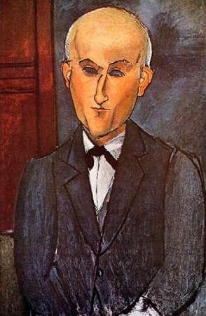 konfigurieren des Kunstdrucks in Wunschgröße Max Jacob von Modigliani, Amedeo