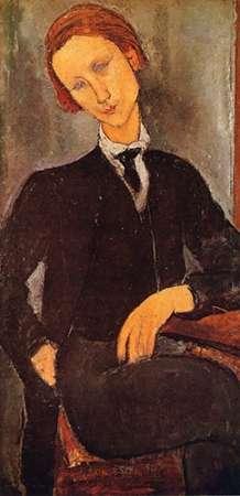 konfigurieren des Kunstdrucks in Wunschgröße Monsieur Baranowski von Modigliani, Amedeo