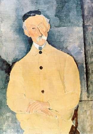 konfigurieren des Kunstdrucks in Wunschgröße Monsieur Lepoutre von Modigliani, Amedeo