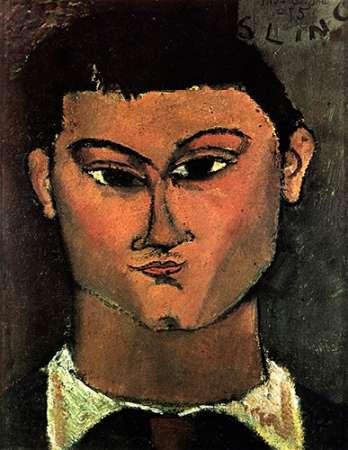 konfigurieren des Kunstdrucks in Wunschgröße Moses Kisling von Modigliani, Amedeo