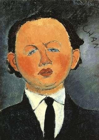 konfigurieren des Kunstdrucks in Wunschgröße Oscar Miestchaninoff von Modigliani, Amedeo