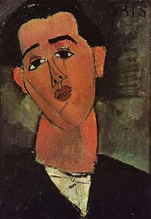 konfigurieren des Kunstdrucks in Wunschgröße Painter Juan Gris von Modigliani, Amedeo
