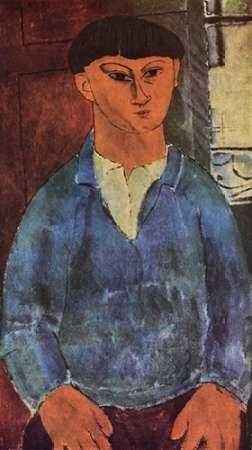 konfigurieren des Kunstdrucks in Wunschgröße Painter Moses Kisling von Modigliani, Amedeo