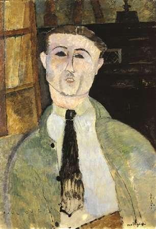 konfigurieren des Kunstdrucks in Wunschgröße Paul Guillaume von Modigliani, Amedeo