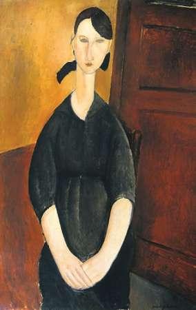 konfigurieren des Kunstdrucks in Wunschgröße Paulette Jourdain von Modigliani, Amedeo