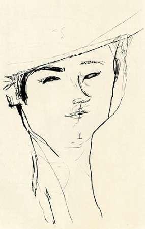 konfigurieren des Kunstdrucks in Wunschgröße Portrait Of A Man 1917 von Modigliani, Amedeo
