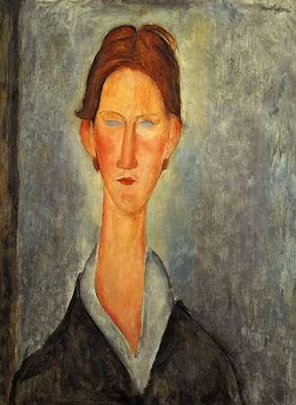Portrait Of A Student von Modigliani, Amedeo <br> max. 81 x 112cm <br> Preis: ab 10€