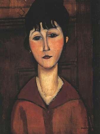 konfigurieren des Kunstdrucks in Wunschgröße Portrait Of A Young Woman von Modigliani, Amedeo