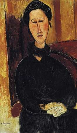 konfigurieren des Kunstdrucks in Wunschgröße Portrait Of Anna Zborowska von Modigliani, Amedeo