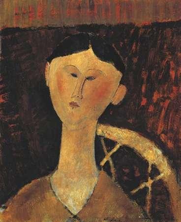 konfigurieren des Kunstdrucks in Wunschgröße Portrait Of Mrs Hastings von Modigliani, Amedeo