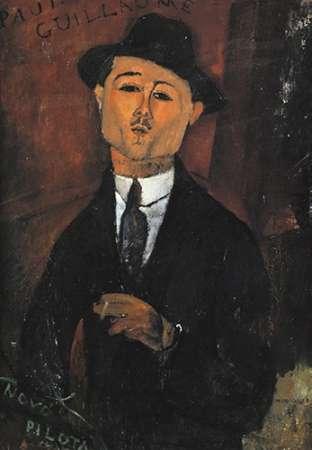 konfigurieren des Kunstdrucks in Wunschgröße Portrait Of Paul Guillaume von Modigliani, Amedeo