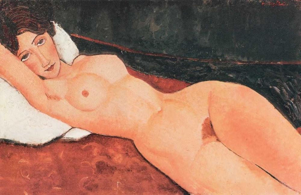 Reclining Nude X von Modigliani, Amedeo <br> max. 81 x 51cm <br> Preis: ab 10€