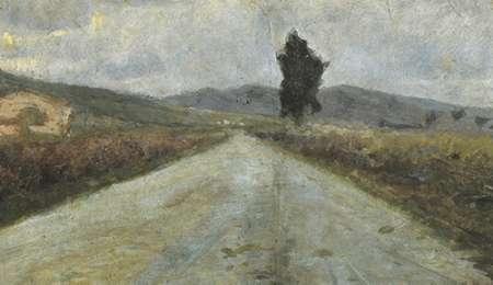 Small Tuscan Road von Modigliani, Amedeo <br> max. 81 x 46cm <br> Preis: ab 10€