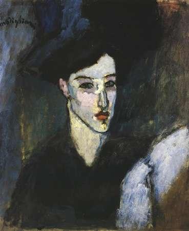 konfigurieren des Kunstdrucks in Wunschgröße The Jewess 1 von Modigliani, Amedeo