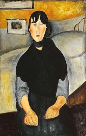 konfigurieren des Kunstdrucks in Wunschgröße Young Woman Of The People von Modigliani, Amedeo