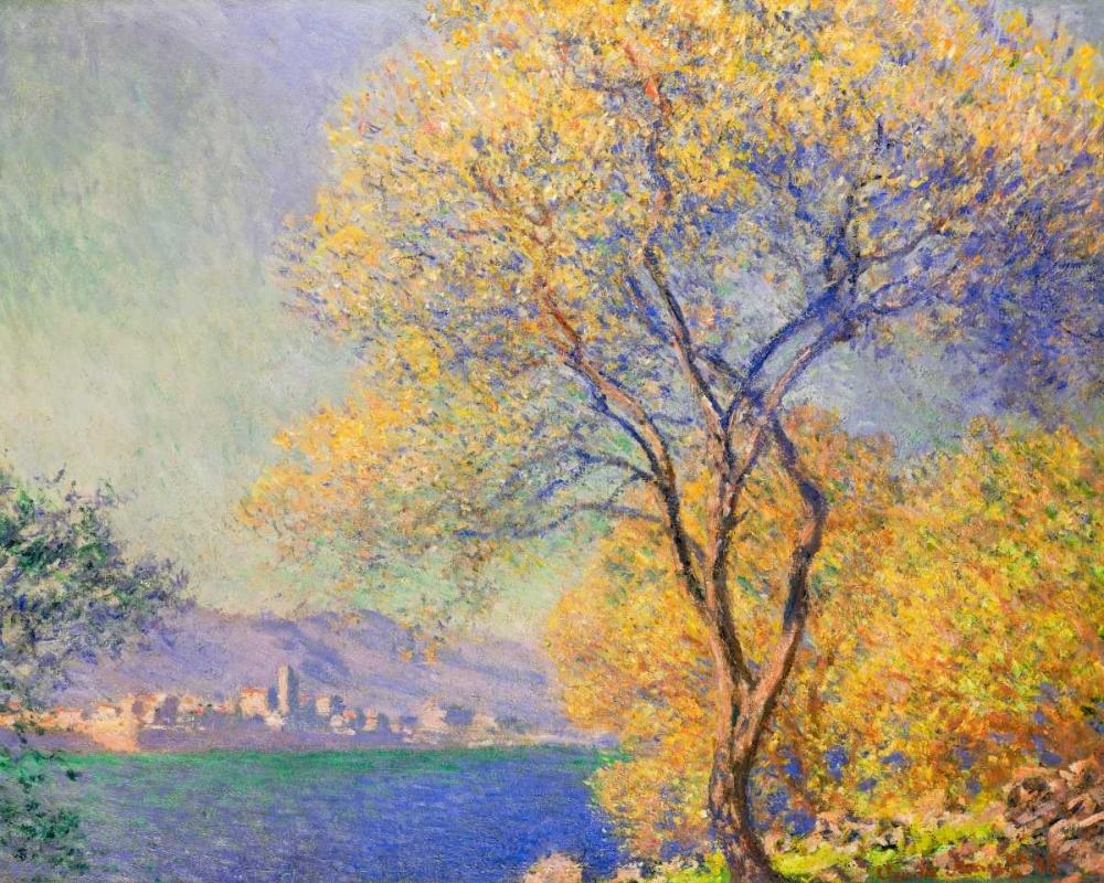 konfigurieren des Kunstdrucks in Wunschgröße Antibes 1888 von Monet, Claude