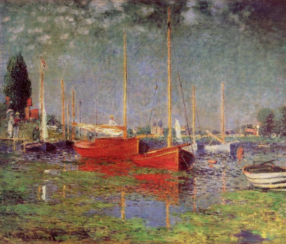 konfigurieren des Kunstdrucks in Wunschgröße Argenteuil, 1875 von Monet, Claude