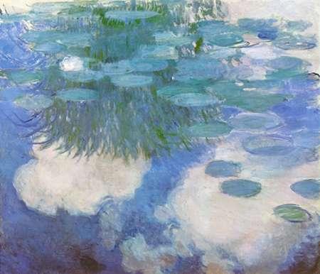 konfigurieren des Kunstdrucks in Wunschgröße Nympheas 1914 von Monet, Claude