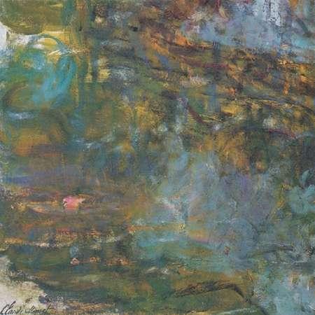 konfigurieren des Kunstdrucks in Wunschgröße Nympheas Detail 1920 von Monet, Claude