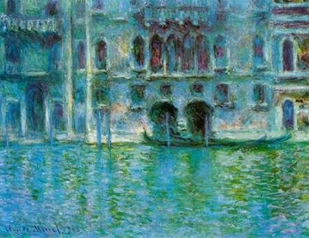 konfigurieren des Kunstdrucks in Wunschgröße Palazzo da Mula, 1908 von Monet, Claude