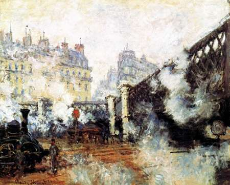 konfigurieren des Kunstdrucks in Wunschgröße Pont De LEurope 1877 von Monet, Claude
