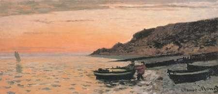 konfigurieren des Kunstdrucks in Wunschgröße The Beach At Sainte-Adresse 1864 von Monet, Claude