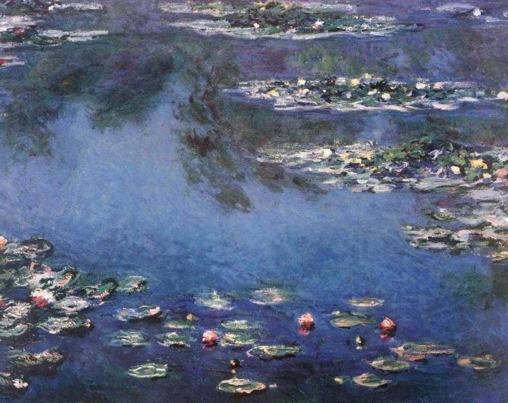 konfigurieren des Kunstdrucks in Wunschgröße Waterlilies 3 von Monet, Claude