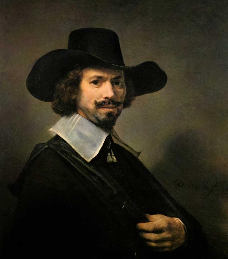 konfigurieren des Kunstdrucks in Wunschgröße The Painter Hendrick Martensz von Rembrandt, van Rijen
